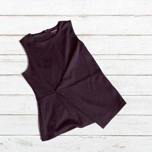 WHBM Black Sleeveless Top (NWOT)